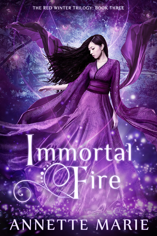 Immortal Fire by Annette Marie ebook cover