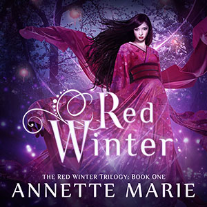 Red Winter audiobook Annette Marie narrated by Emily Woo Zeller